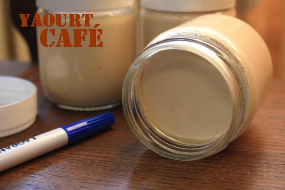 Yaourts maison au café | LES DELICES DE LETISS