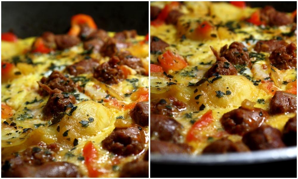Omelette gourmande au merguez les d lices de letiss - Ou trouver des caisses u00e0 pommes ...